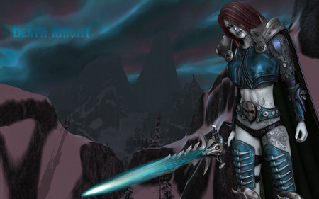 Death Knight - arthas, world of warcraft, wow, dead, lich, warcraft