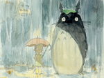 My Neighbour Totoro In Watercolour