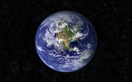 The blue Marble (WDS) - wds, lost, earth, widescreen, planets