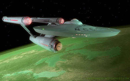 original enterprise  - spaceships, enterprise, star trek
