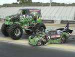 Grave Digger and Pal