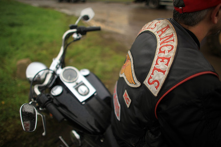 Hells Angels Chapter - cool, motorcycle, people, motorcycle club, motor bike, fraternity, brother, club, hells angels, photo, harley