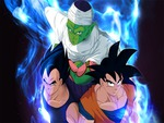 Goku,Vegeta,and Piccolo