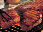 Barbecue Steaks from Grill