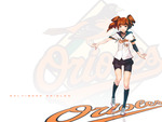 Baltimore Orioles Anime Girl