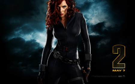Iron Man 2 - Black Widow - black widow, iron man