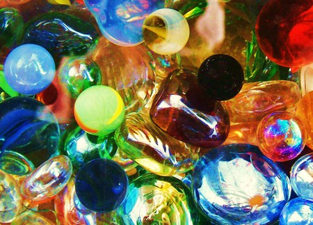 LOST MARBLES - texture, colorful, abstract, glass, foxy