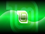 Linux Mint Dark Aqua Wallpaper HD