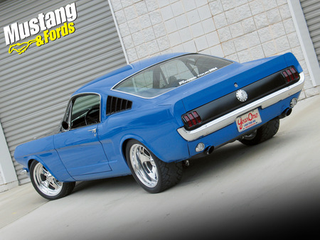 Year One Fastback Mustang Ford Cars Background Wallpapers On