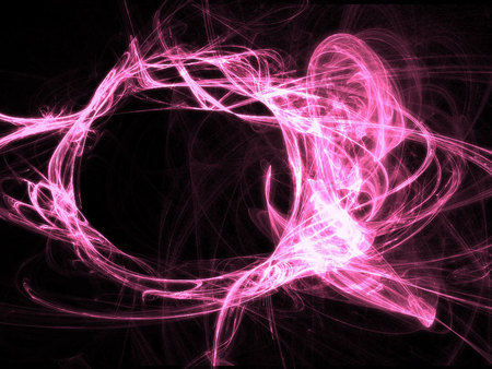 Rave Pink - abstract, electric pink, rave, pink