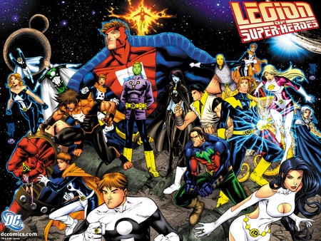 Legion of Super-Heroes - comics, legion of super heroes
