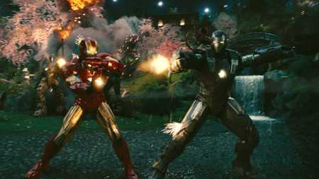 Iron Man & War Machine - movie, iron man, warmachine