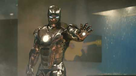 Mark II Suit - iron man, movie