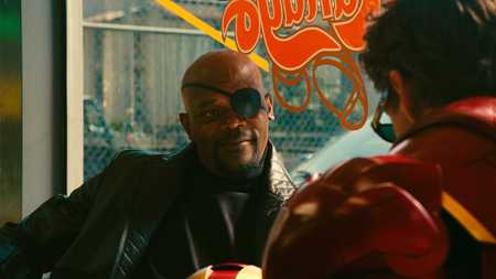 Nick Fury - nick fury, iron man, movies