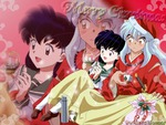 kagome and Inuyasha christmas