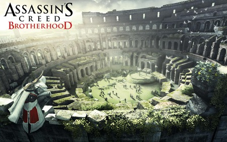 Assassins Creed: Brotherhood - 1st Wallpaper (Widescreen) - assassins creed, ac2, assassins creed 2, ubisoft, brotherhood