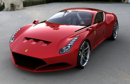 GTO - ferrari, gto, digiart, car, tuning