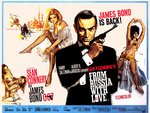 James Bond in From Russia with Love
