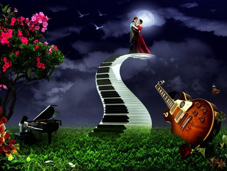 Music stirs the soul - 3D and CG & Abstract Background Wallpapers ...