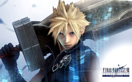 final fantasy - cloud strife, sword, advent children, final fantasy