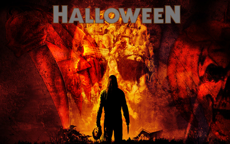 Halloween Michael Myers (WDS) - wds, movie, halloween, widescreen, horror, michael myers, fantasy
