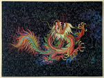 Rainbow Chinese Dragon