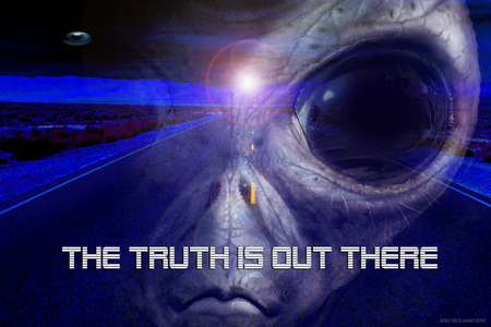 The Truth Is Out There Other Amp Space Background