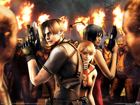 Lethal - zombie, guns, degeneration, hero, video game, gun, fantasy, leon kennedy, leon, adventure, leon s kennedy, movie, leon scott kennedy, horror, action, hair style, fire, hair, fighting, resident evil