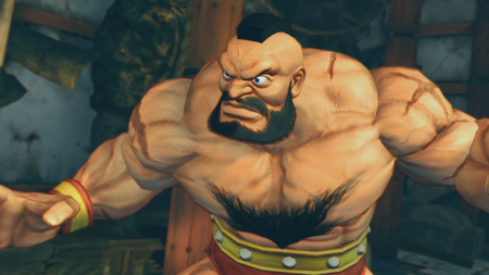 Zangief - Super Street Fighter IV - street fighter, wrestler, zangief
