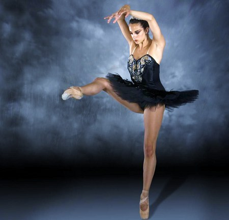 Keep on your toes - dance, ballet, stage, black, ballerina, tutu