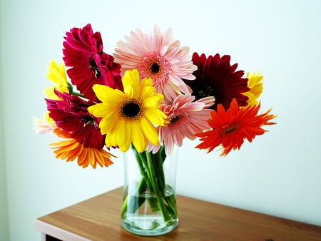 beautiful gorgeous,flowers in vase