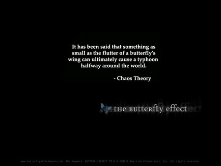 Butterfly Effect - Movies & Entertainment Background ...