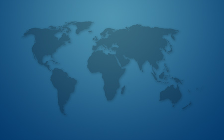 world - blue, map, widescreen, world