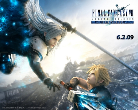 Final.Fantasy.VII.Advent.Children.Complete - sephiroth, cloud, final, fight, adventchildren, masamune, fantasy, strife, ff7