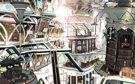 The 31st school Central - teikoku shounen, fantasy, future, city