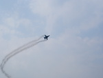 Belgian F16 turning