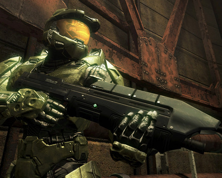 halo - shoting, videogames, halo, guns