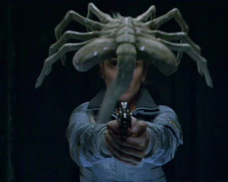 Face Hugger - AVP - movie, alien, face hugger, creature, scifi