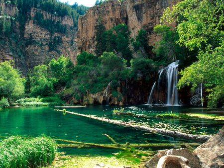 Hanging Lake - Glenwood Canyon, Colorado - waterfall, hanging lake, colorado, glenwood canyon