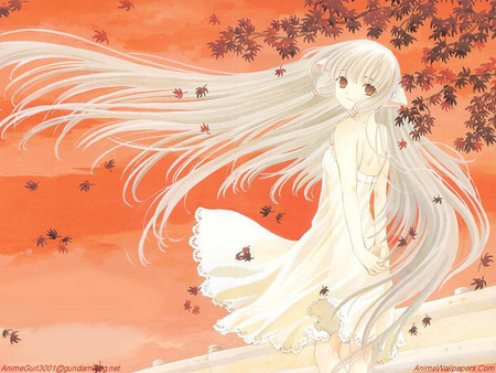 Untitled Wallpaper - chobits, chii