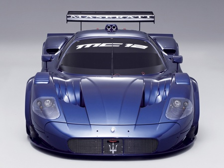 Maserati MC12 Corsa - corsa, maserati, blue, mc12, car