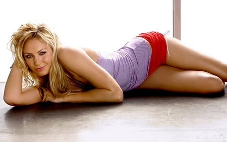 stacy keibler - sexy, chick, woman, wwe, stacy keibler, keibler, girl, legs, model, hot, blonde, stacy