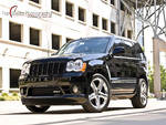 Black 2008 Jeep Grand Cherokee SRT8