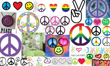Peace Collage - Collages & Abstract Background Wallpapers on ...