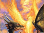 Dragon vs phoenix