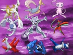 Psychic Pokemon Collection