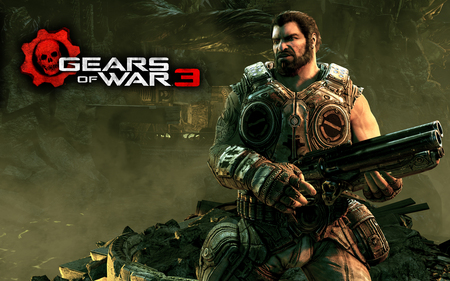 DOM - gow, cog, locus, gears of war 3, marcus finix, dom, halo, anya, gow 3
