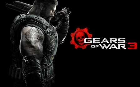 DOM - new, cool, video games, cog, games, best, gears of war 3, jt, marcus finix, dom, 3d, gow 3, entertainment, avatar