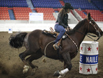 Barrel Racing at the Rodeo