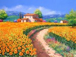 French landscape painting by Jean-Marc Janiaczyk